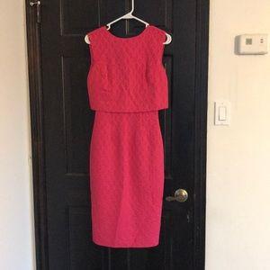 ASOS vibrant pink dress!